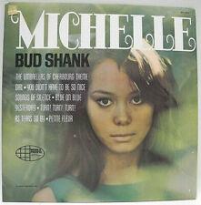 BUD SHANK & CHET BAKER -  MICHELLE - 1966 VG+ GRADED CANADA VINYL LP RELEASE