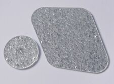 Silver Sparkle LP Rear Control Plate Switch Cavity Cover for Gibson Les Paul