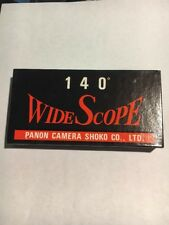 NEW OLD STOCK ORIGINAL WIDELUX PANON SLIDE MOUNTS WIDE SCOPE 140 in FACTORY BOX