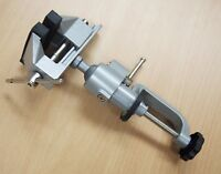 3'' Jaws Aluminum Table Bench Top Vise Vice Universal Swivel Clamp-On