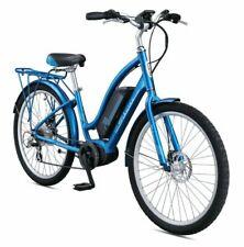Schwinn Constance 250 Watt 7 Speeds Mid Drive Cruiser Electric Bicycle - Blue