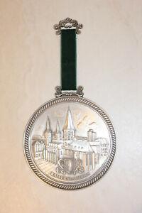 Zinn Becker Medaille Zinnplakette Kaiserslautern