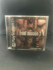 Front Mission 3 ☆☆ Complete in great shape! ☆☆ - PS1 Playstation 1 [S]