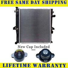 Radiator With Cap For Ford Mazda Fits Explorer Ranger B3000 B4000 3.0 4.0 2173WC