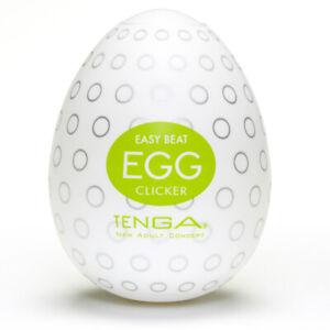Tenga Egg Clicker Masturbator - Free Shipping
