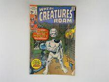 Where Creatures Roam #2 Marvel Comics 1970 VG/FN