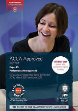 ACCA F5 Performance Management: Study Text, BPP Learning Media, Very Good condit