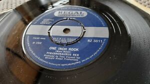 "Tyrannosaurus Rex – One Inch Rock UK 7"" 1st Press 1968 T.Rex Marc Bolan"
