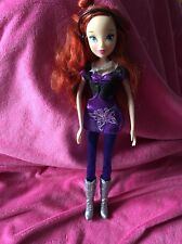 💙Jakks Pacific winx  Bloom Rock Star  Doll Only Ever Been Displayed!!💙