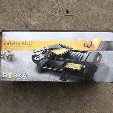Boska HollandKAAS Raclette Mini Pro Collection Electric Grill 4 Cheese,Meat New