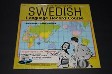 Conversa-phone's Round-The-World Swedish Language Record Course~FAST SHIPPING