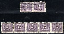 (F-1089) Canada Postage Due First Issue #J2, J4 1906-1928