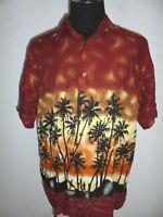 vintage Identic Hawaii Hemd hawaiihemd surf surfer shirt 90s surf Gr. XL