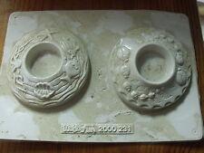 ?§ Moule Thermoformé pour platre ou autre Bougeoir decor Mer & insecte