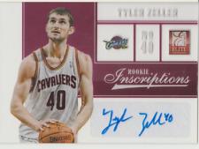 Tyler Zeller 2013 Panini Elite Rookie Inscriptions RC autograph auto card 13