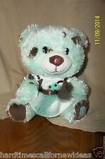 Build a Bear Smallfry Mint Chip Bear Ice Cream Plush With Matching Top & Skirt
