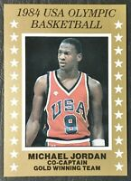 1984 Michael Jordan USA Olympic Basketball Gold Winning Team- Mint