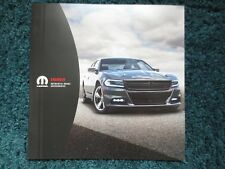 2018 17 DODGE CHARGER ACCESSORIES BROCHURE WHEELS SUSPENSION INTAKE AND MORE NEW
