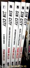 SIN CITY nuova edizione vol. 1, 2, 3, 6 - L' arte + dvd omaggio