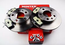 NEW MINTEX REAR BRAKE DISC AND PADS SET FOR AUDI SEAT SKODA VW MDK0037