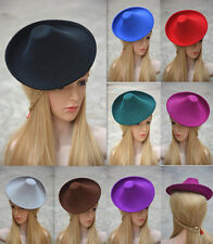 Unique Style Wool Felt Hat Millinery Craft Supplies Fascinator Base A264