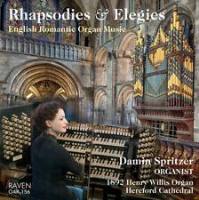 Rhapsodies & Elegies: English Romantic Organ Music, Damin Spritzer at Hereford