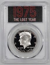 1976 S (1975 LOST YEAR) PROOF KENNEDY HALF DOLLAR 50C PCGS PF PR 70 DCAM (025)