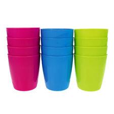 12er Set Mehrweg-Kunststoffbecher 0,3 l | Trinkbecher | Plastikbecher | Becher