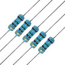 10 x 100 Ohm Metal Film Resistors - 1/4 Watt - 1% - 100R - Fast USA Shipping