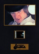 "CLOCKWORK ORANGE 1971 Violence Movie 5"" x 7"" SENITYPE FILM CELL  + GRAPHIC PHOTO"