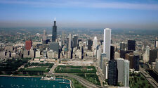 "Aerial view of Chicago, Illinois 13x19"" Photo Print"