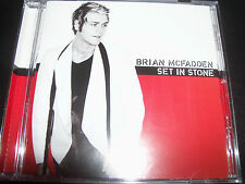 Brian McFadden (Westlife) Set In Stone (Australia) CD - Like New