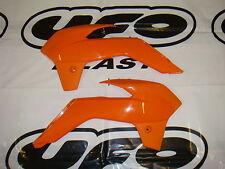 UFO KTM Motocross MX Radiator Rad Covers SX 85 2013 - 2017 Orange