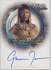 XENA QUOTABLE A51 GINA TORRES CLEOPATRA AUTOGRAPH ANGEL FIREFLY SERENITY