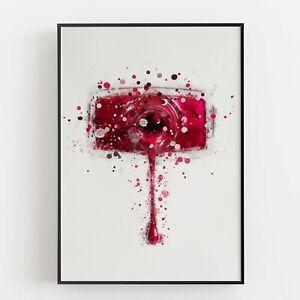 P0212 | Makeup | Nail Polish | Wall Art Print | Glamour | Boutique | Bedroom