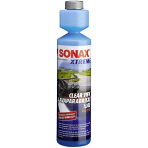 Windscreen Summer Washer SONAX XTREME CLEAR VIEW 1:100 Concentrate 250ml