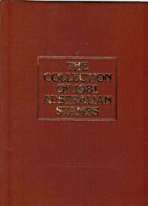AUSTRAILIA 1981 + 1982 COLLECTION HINGELESS BOOKS WITH JACKETS AND STAMPS