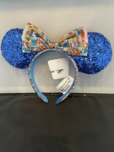 Club 33 Minnie mouse ears celebrating small world 55