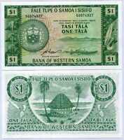 Western Samoa 1 Tala ND 1967 P 16 CRP Reprint UNC