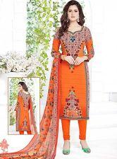 Elegant Crepe Designer Printed Unstitched Dress Material Suit D.No VM1755