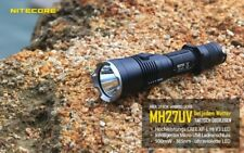 Nitecore MH27UV - Taschenlampe mit UV CREE XP-L HI V3 LED, 500mW, 365nm mit USB