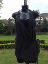 Women Wear Sarah Pacini cotton,Nylon black Summer top/ Blouse 2253 BNWT