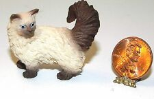 Dollhouse Miniature Cat Himalayan Falcon Minis 1:12 Scale