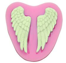 Angel wings Silicone Mould for Sugar Craft, Fondant, Cake Decorating ,Baking