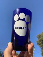 Rare PENN STATE NITTANY LIONS Paw Print Nittany Highball Ale Beer Glass ❤️sj4j