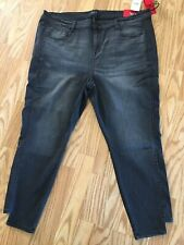 Celebrity Pink Womens Mid Rise Ankle Jeans. Size 22