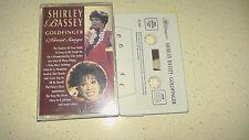shirley bassey goldfinger music cassette      fast dispatch