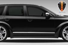 For 03 06 Porsche Cayenne Eros V1 Wide Body Side Skirts 2pc 108271