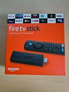 Amazon Fire TV Stick 2021 mit Alexa Stimme Remote (inkl. TV Kontrollen) - Versiegelt!
