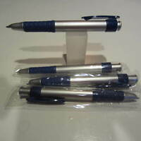 4 TERZETTI GRIP PDA TIP STYLUS BALLPOINT PEN-BLUE-IDEAL FOR FEDEX,UPS/ DELIVERY